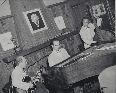 Billy Bauer, Lennie Tristano and Arnold Fishkind